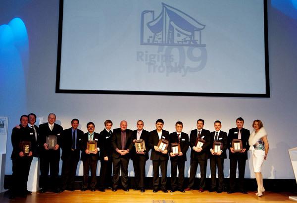 Die Gewinner der Rigips Trophy ´09