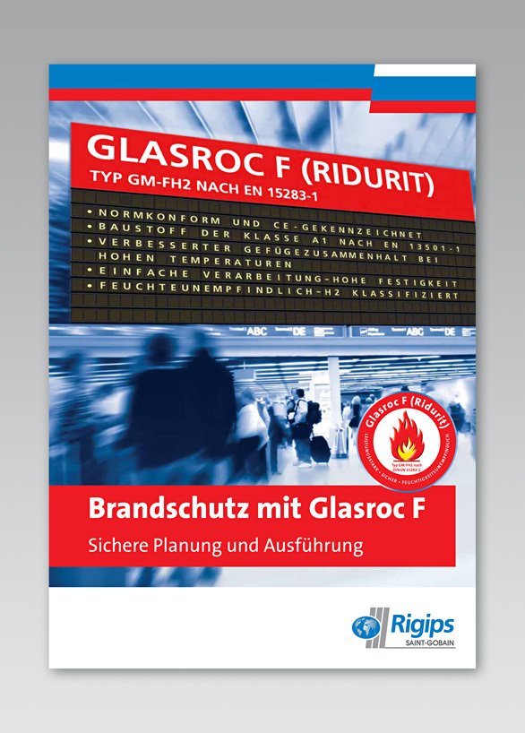 Rigips Glasroc F - Broschüre