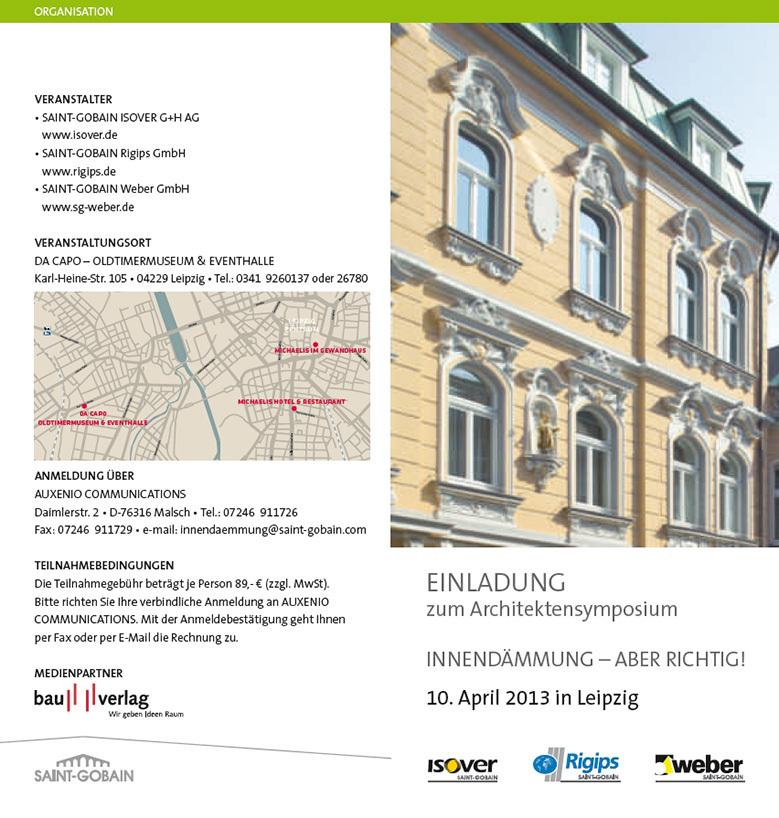 Architektensymposien 2013