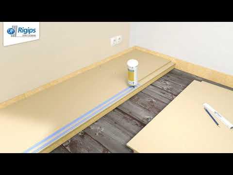 Rigips Anleitung zur Verlegung von Estrichelementen - Rigidur Fußboden-Systeme