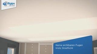 Grundlagen/Erstellung Montagedecken mit Rigips 4PRO Die Weiße | Verarbeitungsanleitung Trockenbau