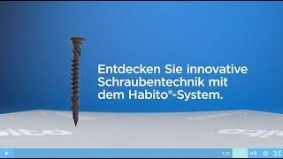 Rigips Habito Schnellbauschraube - Die revolutionäre Schraube für die massive Trockenbauplatte