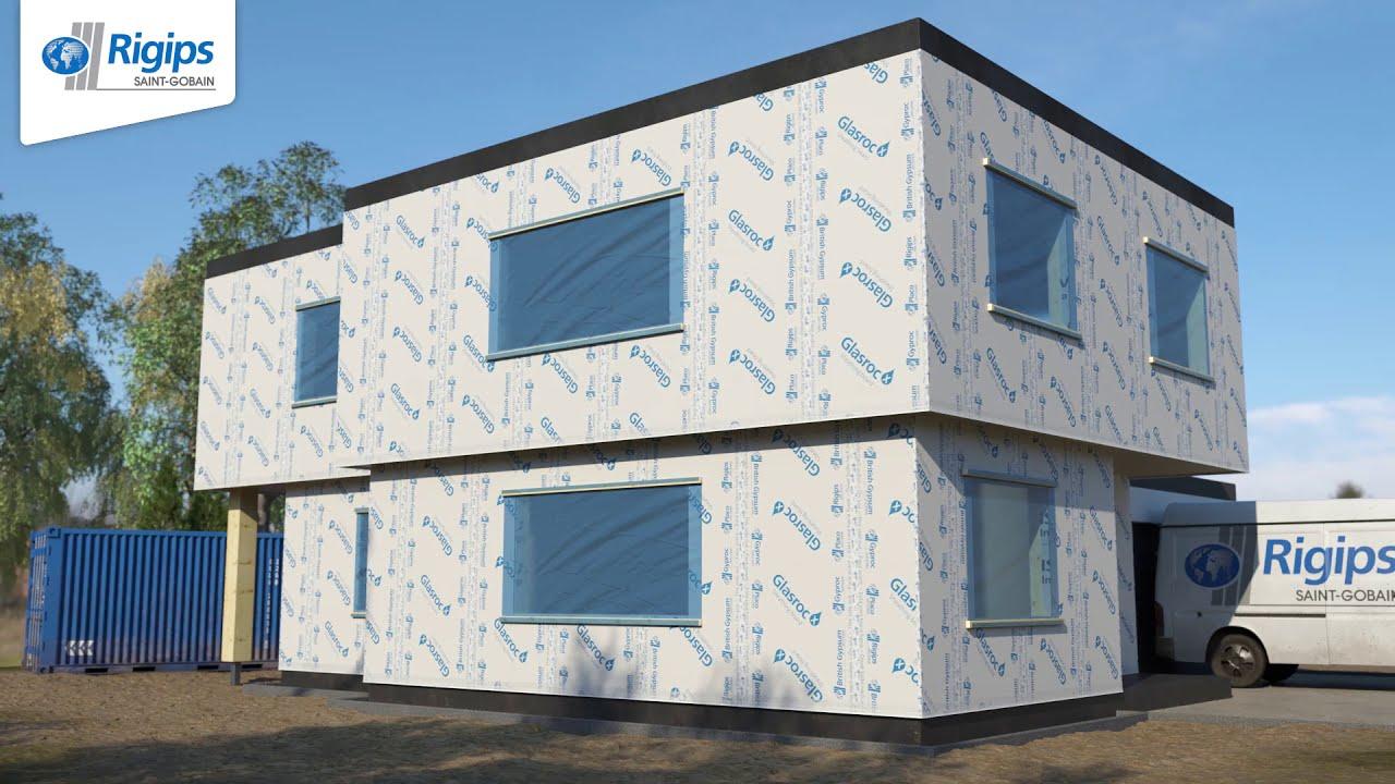 Verarbeitungsrichtlinien Außenwände im Holzbau mit Rigips Glasroc X