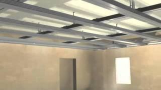 Rigips Montagedecken bekleiden/abhängen