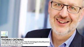 Rigips Trophy Juror: Der neue Wert der Akustik