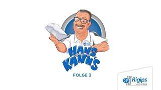 "Rigips präsentiert: ""Hans kann's"" Folge 3"