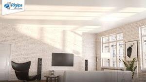 Bild eines weiß gestrichenen Raums