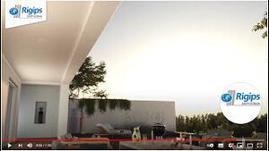 Ausblick auf eine luxoriöse Terrasse